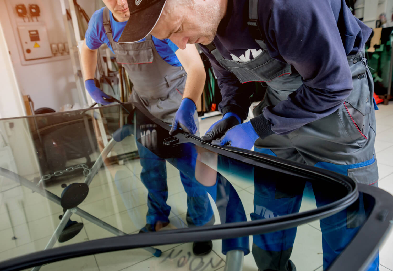 Windscreeen Replacement at Redding's Auto Glass service partner